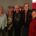 Norm and Sandie Clunies-Ross, Lake Laberge, YT concert hosts with Barrett and Carol Horne.